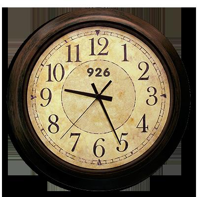 reloj 9:26